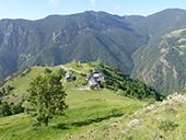 Bony de la Pica (2402 m) depuis la Margineda