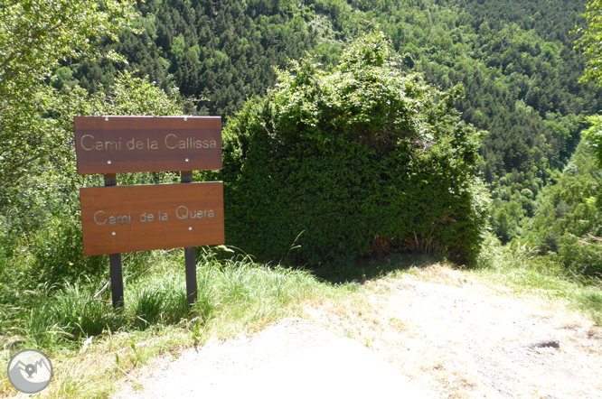 Bony de la Pica (2402 m) depuis la Margineda 1