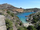 Antique chemin de Cadaqués à Cap de Creus