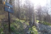 Chemin du Gallo sur le pont de Collart.
