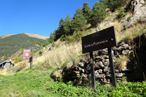 Chemin de Percanela.