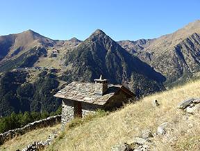 Chemin de Percanela - Les Fonts - Pla de l�Estany