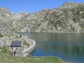 Étang Gento par le chemin de la Canal de Pigolo