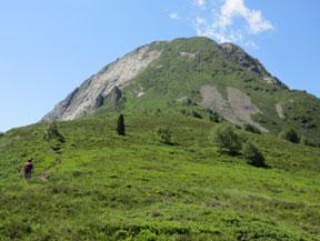 La Dent d�Orlu (2222 m) par le Sarrat de la Llau