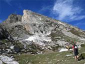 Pic du Gra de Fajol (2714 m) par l�ar�te NE