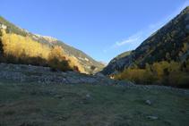 Vues de la vallée de Madriu (est).