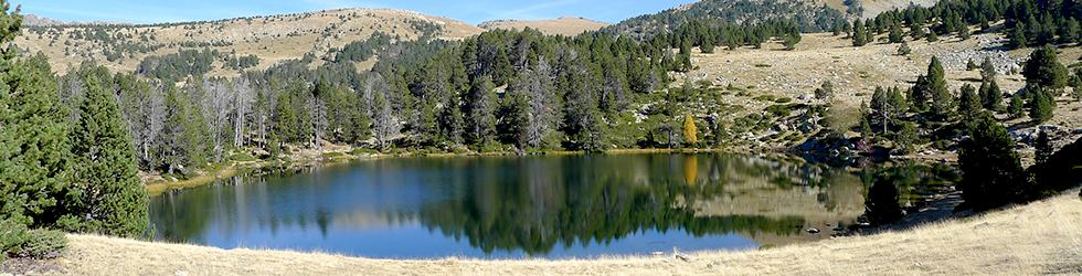 Lac de la Nou et vallées de Claror et Perafita