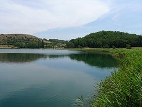 �tang de Montcort�s depuis Senterada