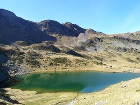 Lac et pic de l�Estany� (2915 m)
