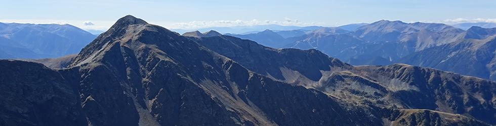Lac et pic de l�Estanyó (2915 m)