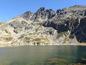 Lacs de Juclar et pic d