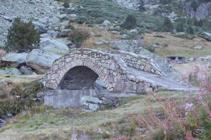 Pont de la source du Travenc.
