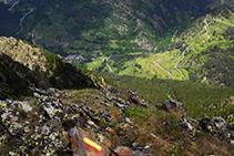 Os de Civís au fond de la vallée (versant catalan).