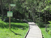 Itin�raire adapt� du Pont de la Gorga
