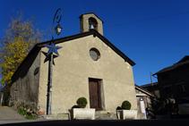 Église Sant Ermengol de l´Aldosa.