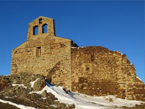 Chapelle de Belloc depuis Dorres