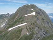 Le Mont Valier (2838 m) et le pic de la Pala Clavera (2721 m)