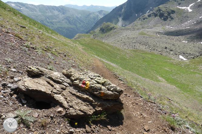 Lacs de Ransol et pic de la Serrera (2913 m) 1