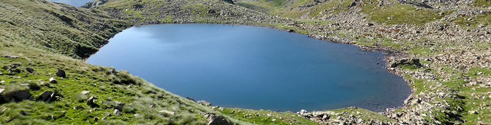 Lacs de Ransol et pic de la Serrera (2913 m)