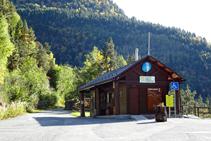 Point d´information du Parc naturel de la vallée de Sorteny.