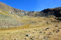 Clots de La Serrera, à l´entrée de la vallée de Sorteny.