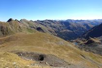 Vue panoramique sur l´entrée de la vallée de Ransol, depuis le col d´Els Meners.