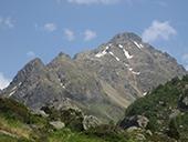Pic de Rulhe (2783 m) depuis le Pla des Peyres