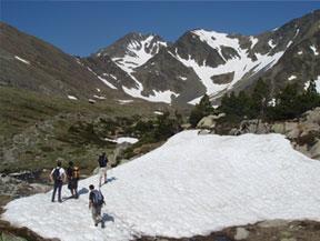 Pic Carlit (2921 m) depuis le lac des Bouillouses