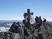 Pica d�Estats (3143 m) depuis la Vall Ferrera