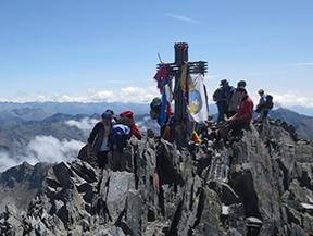 Pica d�Estats (3.143m) depuis la Vall Ferrera