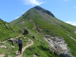 Pic Arlas (2044 m) depuis le col de la Pierre Saint-Martin