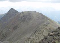 Nous continuons notre parcours sur la Serra du Cap de La Coma à la recherche du pic d´Arcalís.