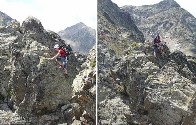 Pic de Cataperdís (2806 m) et pic d