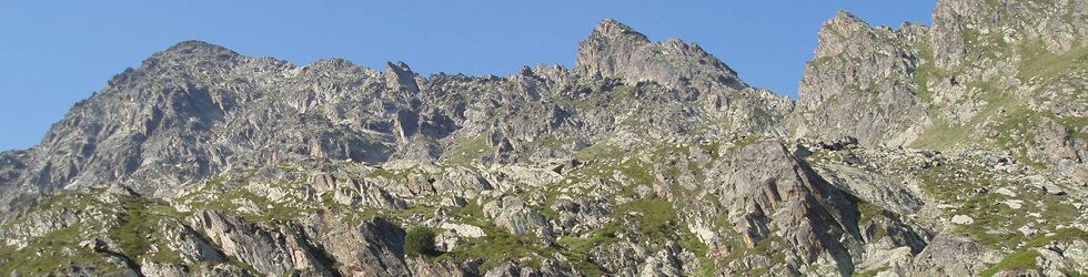 Pic de Cataperdís (2806 m) et pic d�Arcalís (2776 m)
