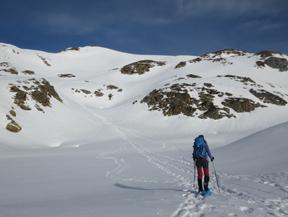 Pic de la Coma del Forn (2685 m) depuis la Pleta del Prat