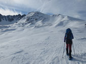 Pic de Pedrons (2715 m) depuis la frontière franco-andorrane