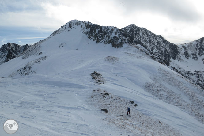 Pic de Pedrons (2715 m) depuis la frontière franco-andorrane 1