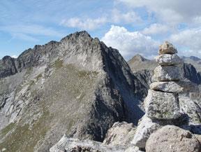 Pic de Peguera (2983 m) et pic de Monestero (2877 m)
