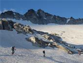Maladeta Oriental (3308 m) et pic Abadías (3271 m) par la Renclusa