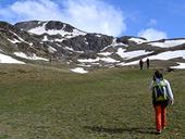 Puigpedr�s (2915 m) par Engorgs depuis le refuge du Malniu