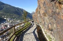 Saillies rocheuses à côté du Rec del Solà.