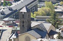 Église Sant Esteve d´Andorre-la-Vieille.