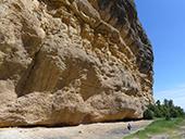 Roca del Corb et Roc de Cogul depuis Peramola