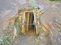 Entrée de la mine de Llorts.