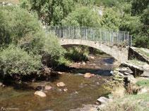 Pont de Les Moles, point 7 du parcours.