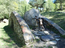 Sculpture de Mark Brusse.