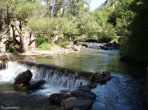 La rivière Valira del Nord.