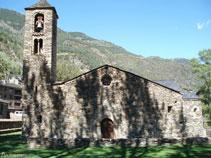Église Sant Martí de La Cortinada.