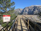 Route du Trencapinyes et le belvédère des Orris