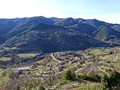 La montagne du Puig d´Estela à Vallfogona de Ripollès